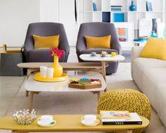 Ideas en amarillo y sus múltiples combinaciones