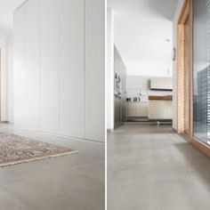 Haus SHL: minimalistische Küche von Förstl Naturstein