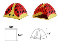Baxter Beetle will become your Childs favorite place to play. With his cute face and fun design he will provide hours of fun and excitement. The large inverted T Childrens Play Tents, Pop Up Play, Waterproof Tent, Tent Fabric, Blanket Fort, Star Wars, Teepee Kids, Love Coupons, Easy Entry