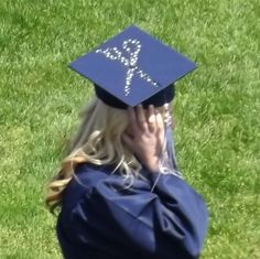 Cosmetology graduation cap design