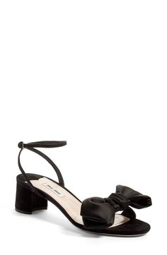 Strappy Bow Sandal (Women)