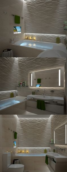 Relaxing bathroom :)