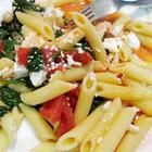 Recipe photo: Penne with Tomatoes, Cannellini Beans and Feta