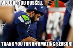 We Love you Russell no matter what!! You are a real hero!! #GoHawks
