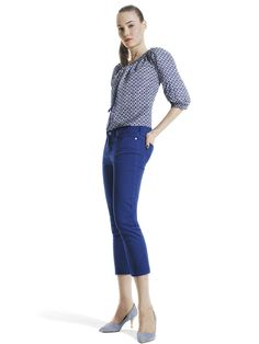 Joe Fresh™ Peasant top & color cropped jean  win $10,000 jcpenney shopping spree from ellen and jcpenney