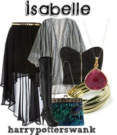 Mortal Instruments Isabelle Lightwood outfit
