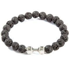 1314568098b0 Leopard and dumbbells Bracelets (7 variations)