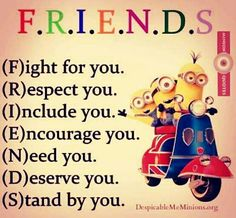 What are true friends all about ...