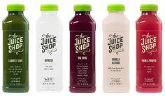 trendy ideas for fruit juice shop design smoothie bar Juice Logo, Juice Branding, Juice Packaging, Beverage Packaging, Bottle Packaging, Smoothie Bar, Raw Juice Bar, Juice Bars, Fruit Shop
