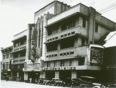Ideal Theater in Manila by Pablo Antonio Philippines Culture, Manila Philippines, Filipino Architecture, Pinoy, Cool Photos, Interesting Photos, Old Pictures, Time Travel, Past