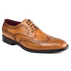 Lugano ZM3771 Tan Shoes
