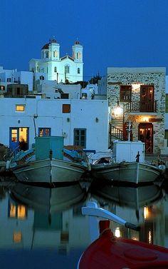 Naousa - Paros Island, (Cyclades), Greece | Flickr - Photo by Stavros Niflis