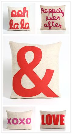 Can you imagine that these cushions are made from felt that has been created from recycled plastic bottles ...