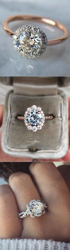 20 Dazzling engagement ring ideas for all brides in 2018 #DazzlingDiamondEngagementRings