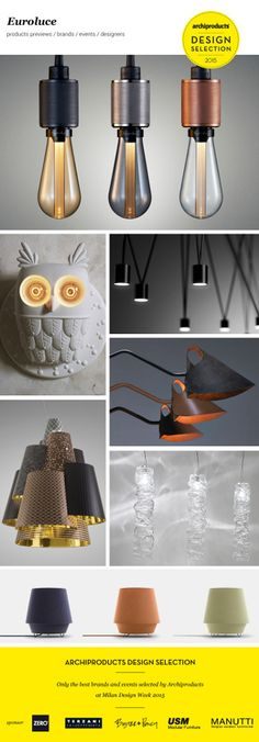 Euroluce 2015 Design Selection, only the best brands and events selected by Archiproducts