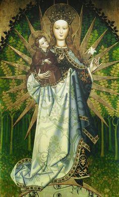 Santa madre de Dios.