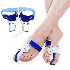 2pcs Professional PVC Hallux Valgus Bunion Regulator Toes Orthotics Foot Care BBI-314716