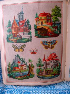 SCHÖNE GOBELIN - STICKMUSTER- VORLAGEN, UM 1880   eBay