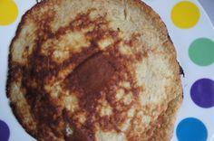 Pannenkoekjes met 2 ingrediënten (suikervrij, zuivelvrij, tarwevrij)
