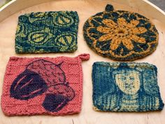 Tutorial for cyanotype printing on knits
