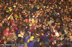 Hogmanay (New Year's Eve) in Edinburgh at the turn of the century (1999-2000). Biggest street party in the entire world. Fireworks and seeing my favorite band play at Edinburgh Castle. Singing Auld Lang Syne with (and kissing!) thousands of new friends. Truly a night to remember.