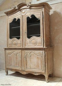 A carved, late Century pine buffet du corps, formally painted. Century, Decor, Furniture Diy, Wood, Furniture, Pine Wood, French Furniture, Pine, Carving