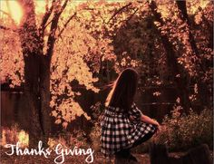 Thanks Giving! :) Autumn's Coming up soon, Get ready to change your wardrobe!