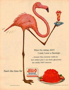 hahaha say whaaat- Jell-o Vintage Ad