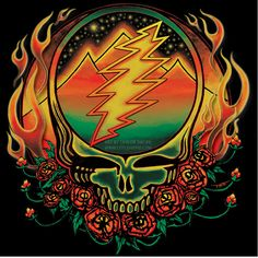 Scarlet Fire Steal Your Face - ART BY TAYLOR SWOPE