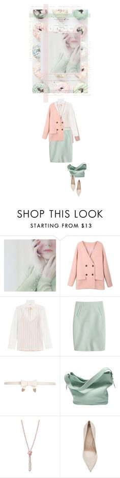 """Donut Dreams"" by kearalachelle ❤ liked on Polyvore featuring Philosophy di Lorenzo Serafini, J.Crew, River Island, Skagen and Sergio Rossi"