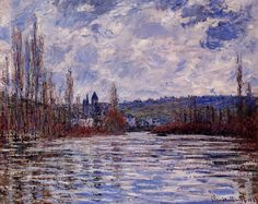 La Seine en crue à Vétheuil (C Monet - W 638) | Flickr - Photo Sharing!