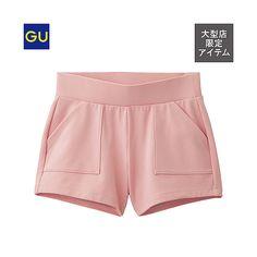 GU(GU)スポーツダブルレイヤーショートパンツ - GU ジーユー