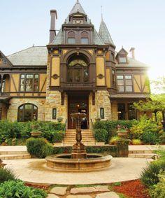 Beringer Vineyards – St. Helena -   the palatial Rhine House, Frederick Beringer's former residence
