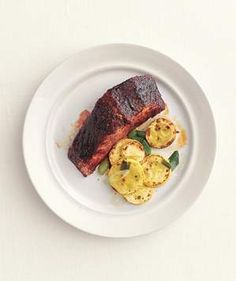 Salmon With Sweet Chili Glaze | Get the recipe for Salmon With Sweet Chili Glaze.
