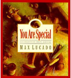 "One of the best children's books I've read. Great Christian message for all ages addressing self worth from our Maker vs. the approval of the world. ""You are Special"" by Max Lucado."