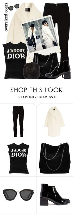 """oversized coats"" by teto000 ❤ liked on Polyvore featuring Frame, Etrala London, Christian Dior, Gucci, Prada, Barneys New York, coats and oversizedcoats"