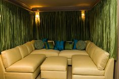 Family Room Movie Room Design, Pictures, Remodel, Decor and Ideas - Interior Decorating, Interior Design, Entertainment Room, Bedroom Lighting, Wow Products, Windows And Doors, Window Treatments, Home Accessories, Family Room