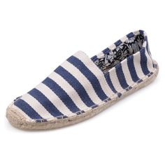 #Shoes Never Doubt That The Famous White Navy Toms Mens Stripe Shoes Could Bring People Happiness!