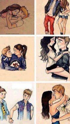 Hay esa es la vida que quisiera tener con el chico q me gusta