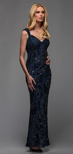 22831763c1a Another image of Scala Sequin Mother of the Bride Dress 47572 Designer  Evening Gowns
