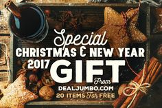 Special Christmas & New Year 2017 Gift