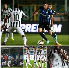 Collage...Atalanta Juventus...