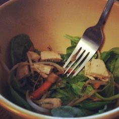 Heat's Kitchen: Asian Chicken Salad