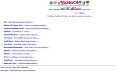 How 20 popular websites looked when they launched - Telegraph