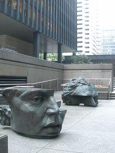 Déconstructions. #sculpture #tete  #Toronto ON