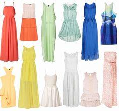In spiaggia porti vestiti corti o lunghi? I vestiti per la tua primavera estate 2013!