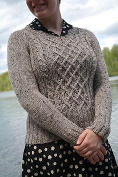 Ravelry: Jess' Birthday Sweater pattern by Emily Wright
