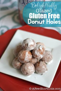 Gluten Free Donut Holes