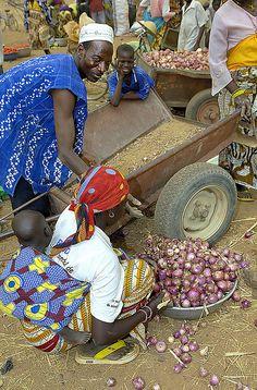 market, Burkina Faso.