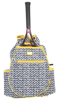 Ame & Lulu Ladies Tennis Backpacks - Vine